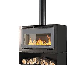 Palazetti fireplace 3D model