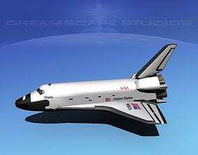 3D STS Shuttle Atlantis Basic LP 1-1