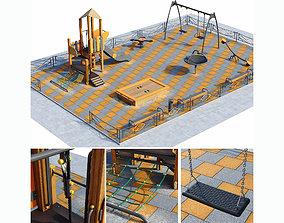 fun 3D model Children playground
