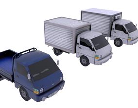 3D asset rigged Hyundai Porter