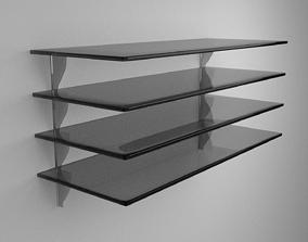3D model Glass Shelves