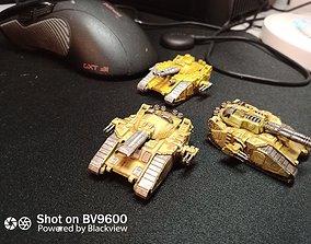 WAR-ENGINS of the Armageddon set 1 3D print model