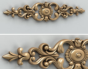 3D Carved decor horizontal 006