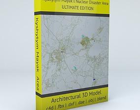 Kyshtym Mayak Nuclear Disaster Area 3D