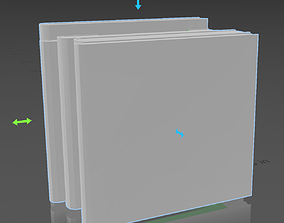 A tissue box mad out of books gift 3D print model