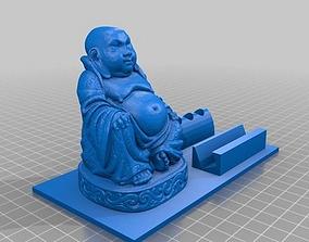 3D printable model Buddha Figurine and Desk Organizer