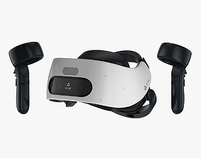 HTC Vive Focus Plus Set 3D model