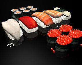Sushi 01 3D