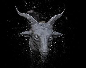 Baphomet Head beast 3D printable model