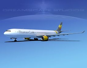 3D model Airbus A330-300 Thomas Cook
