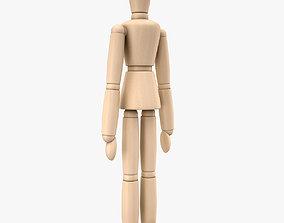 Woodenman 3D model
