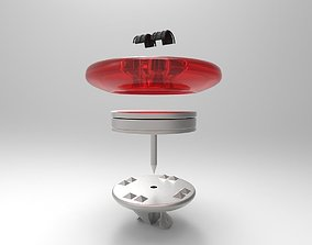3D asset magnetic button