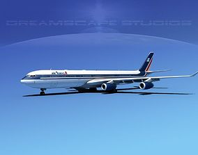 Airbus A340-600 Air Transat 3D model