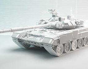 t90a russian tank 3D print model