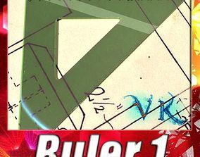 3D Square Angle Ruler 01