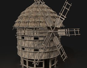 3D model Next Gen AAA THATCHED FANTASY MEDIEVAL WOODEN 1