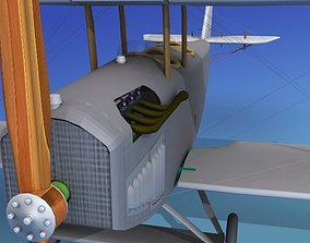 Curtiss JN-2 Jenny V12 3D