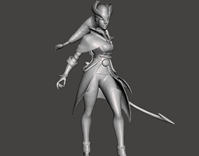 Dark Waters Diana 3D Model