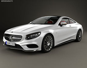 3D model Mercedes-Benz S-Class AMG Sports C217 coupe HQ 1