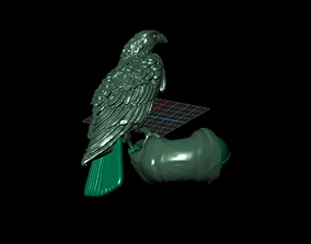 3D print model sahin atmaca obje