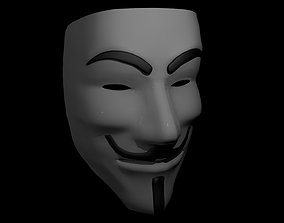 3D asset Vendetta Mask
