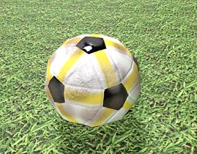 Soccer Ball Low-Poly goal 3D asset