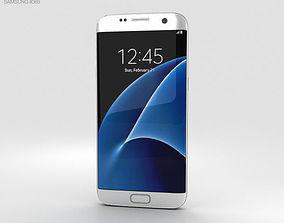 3D model Samsung Galaxy S7 Edge White
