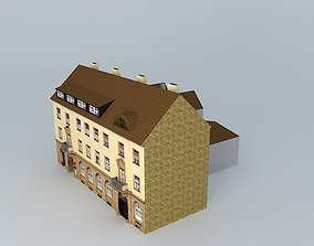 Old Office Building Europe 3D asset