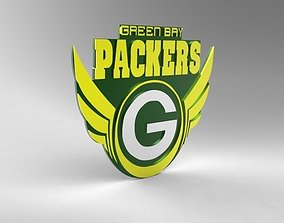 Request Green bay packers logo 3D