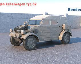 Volkswagen kubelwagen typ 82 3D model