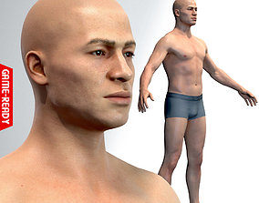 3D model Average Male Body