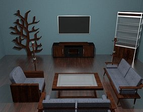 Living Room Package 3D asset