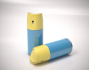 3D model Spray can