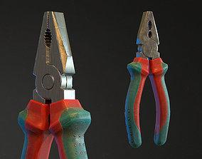 Pliers 3D asset realtime