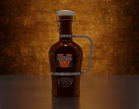 3D food Victory Beer Growler