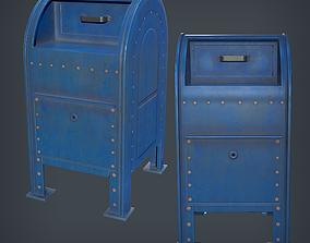 Mailbox - Urban 3D model