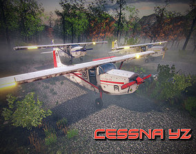 Cessna YZ 3D model