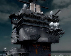 3D USS Enterprise CVN-65
