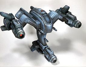 3D print model Starcraft Wraith