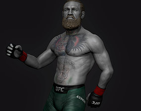 figurines 3D printable model Conor McGregor