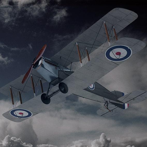 Biplane Bristol f2b