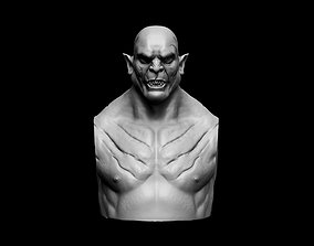 Azog The Defiler Bust Fan Art 3D printable model