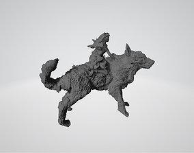 3D print model Princess Mononoke