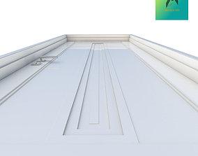3D printable model door Room Door Type 6
