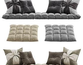 3D Seat pillow set 4