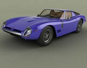 Bizzarrini 5300 GT Targa 3D model