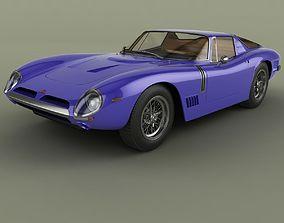 Bizzarrini 5300 GT Targa 3D model