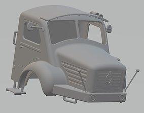 Berliet Printable Cabin Truck