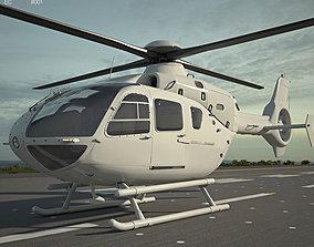 Eurocopter EC135 europe 3D model