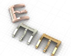 patek 3D printable model buckle Patek Philippe